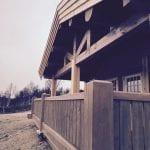 veranda på stavlafthytte